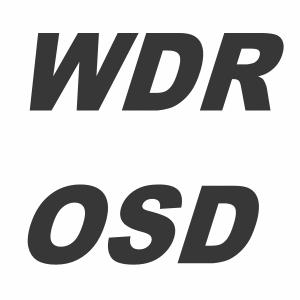 WDR / OSD Camera