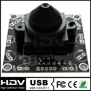 0.48 Megapixel ATM USB Camera Module with 3.7mm Pinhole Lens