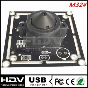 720P 1.0MP ATM USB Camera Module HDV-USB720MP-P3.7 Series
