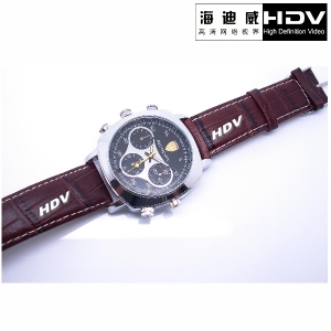 Hidden Watch Spy Video Camera 4GB